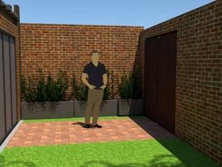Hacienda: Casas de estilo  por Fire Design AR,