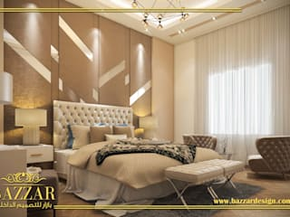 غرف نوم رئيسية من Bazzar Design