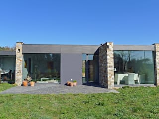 AD+ arquitectura Detached home Stone Grey