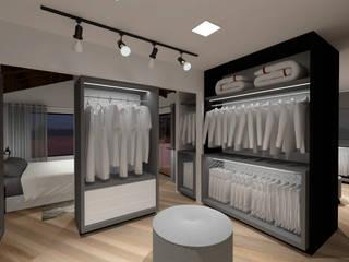 Cláudia Legonde Modern dressing room MDF White
