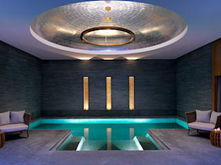 Hoteles de estilo  por Ro Lighting Design