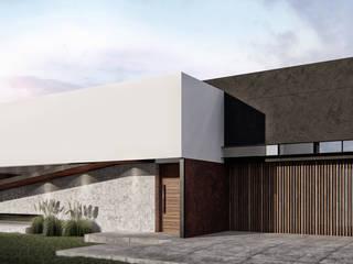 Casa Rampa: Casas de estilo  por BAGNUS ARQUITECTO