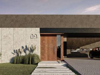 Proyectos: Casas de estilo  por BAGNUS ARQUITECTO