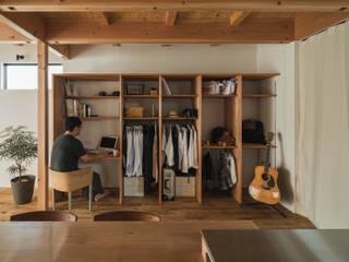 noji house: ALTS DESIGN OFFICEが手掛けた書斎です。