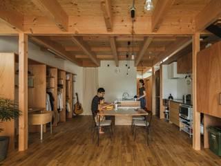 noji house: ALTS DESIGN OFFICEが手掛けたダイニングです。