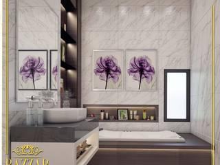 تصميم حمامات من Bazzar Design