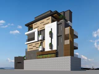 郭公館外觀2:  房子 by 張哲維建築師事務所
