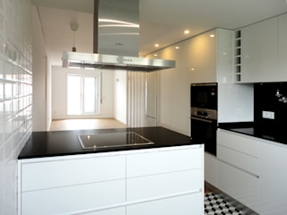 Cocinas modernas de GAAPE - ARQUITECTURA, PLANEAMENTO E ENGENHARIA, LDA Moderno