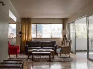 Remodelación Departamento Aguirre: Livings de estilo  por BMAA