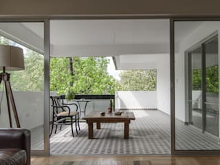 Remodelación Departamento Aguirre: Terrazas  de estilo  por BMAA