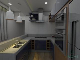 Cozinha Gourmet - Contemporânea:   por INOVE ARQUITETURA