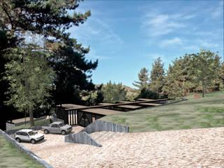 CASA SCH: Casas de estilo  por KOMMER ARQUITECTOS