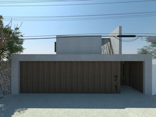 Residência 71: Casas familiares  por STUDIO CESAR BORSOI