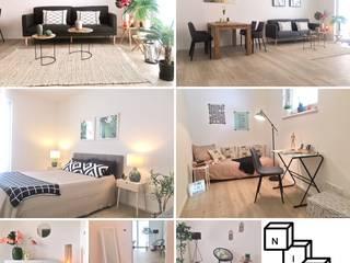 Home Staging Projekte:   von NICE Homestaging