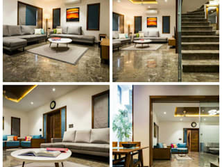 Private Residence Archmaze Modern walls & floors Glass