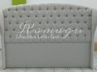 Cabeceras de cama Capitonado ROMAGU MUEBLES RecámarasCamas y cabeceras Textil Beige