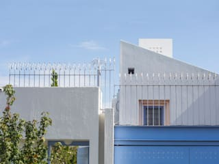 Casa C Al Cuadrado: Casas unifamiliares de estilo  por Bojorquez Arquitectos SA de CV