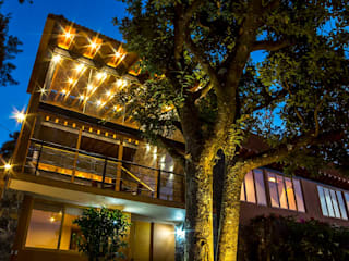 Casa IC: Casas de estilo  por Taller de Arquitectura Bioclimática +3d