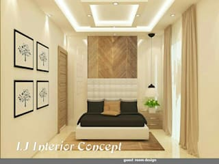 Happy Home - Vadodara: modern  by LJ Interior Concept,Modern