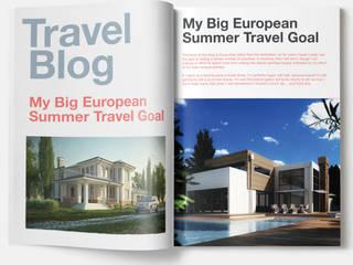 Real Estate Booklet Concept By Real Estate Web Development - New York, USA Klasik Bar & Kulüpler Yantram Architectural Design Studio Klasik