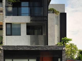 黃耀德建築師事務所 Adermark Design Studio Rumah Minimalis Metal