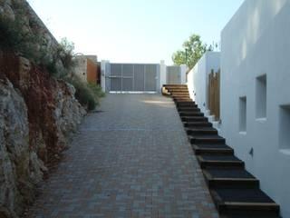 Vivienda unifamiliar en Rotova Casas de estilo mediterráneo de BHB arquitectura Mediterráneo
