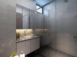 Baños de estilo moderno de March Atelier Moderno