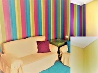 Habitación multicolor:  de estilo  de CONSUELO TORRES