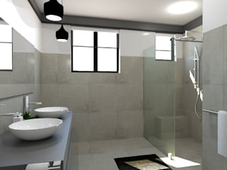 New Bathroom:   by A4AC Architects