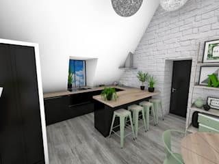 Kitchen by Crhome Design, Modern