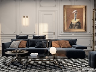 Ruang Keluarga Klasik Oleh Виталий Юров Klasik