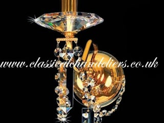 Classical Chandeliers 客廳照明 Amber/Gold