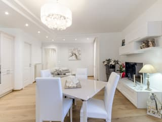 Modern Dining Room by msplus architettura Modern
