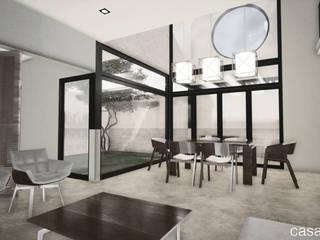 Casa Noas Salones modernos de eit.a Moderno