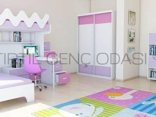 Girls Bedroom by Tırtıl Genç ve Çocuk Odası