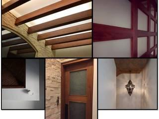 Acabados en remodelación de oficinas: Estudios y oficinas de estilo  por Forma y Función