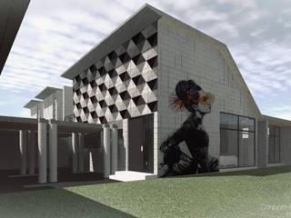 Conjunto Habitacional SG Casas modernas de eit.a Moderno