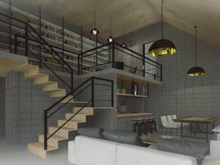Conjunto Habitacional SG Comedores modernos de eit.a Moderno