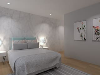 Modern Bedroom by QOTDA Design Modern