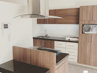 JMB Arquitectos Nhà bếp phong cách hiện đại