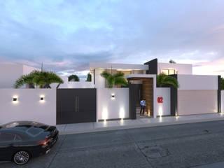 CASA GV Casas modernas de Miranda Paez Arquitectura Interior Moderno