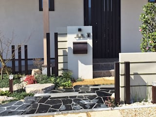和の庭・エクステリア(外構) 日本家屋・アジアの家 の 匠ガーデン 和風