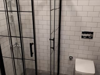 ideal duşakabin BathroomBathtubs & showers Aluminium/Seng Black