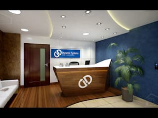 Interior Modern office buildings by Dream Touch Modern