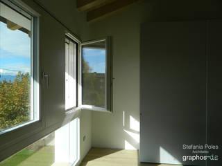 Casa GAIA (Treviso) Camera da letto rurale di GRAPHOS_DS Rurale
