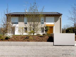 Casa GAIA (Treviso) Giardino rurale di GRAPHOS_DS Rurale