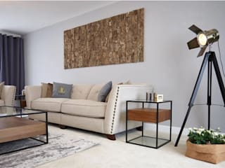 The Modern Living Room Ruang Keluarga Modern Oleh Aorta the heart of art Modern