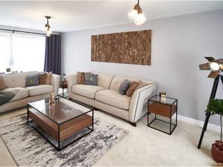 The Modern Living Room Aorta the heart of art Livings de estilo moderno