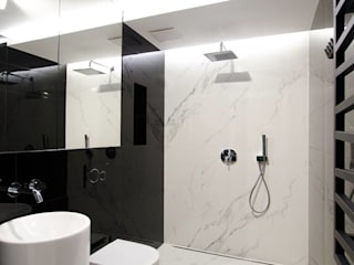 Apartament w Garnizonie / Gdańsk Wrzeszcz/ Nowoczesna łazienka od Ajot pracownia projektowa Nowoczesny