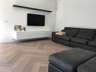 ARDEE Parket Interieur Design Modern living room Wood Beige